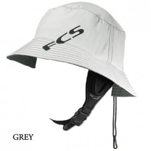FCS Wet Bucket Water Hat - Grey