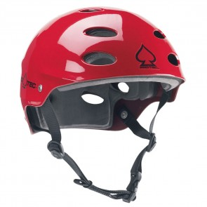 Protec Ace Water Helmet - Gloss Red