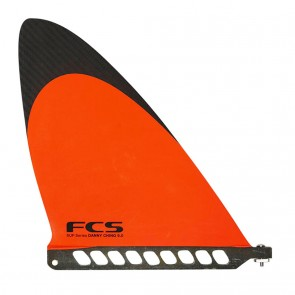 FCS Fins - 9'' Danny Ching SUP Fin - Orange/Carbon
