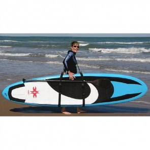 North Shore Inc - SUP Surfboard Carrier - Black/Green Camo