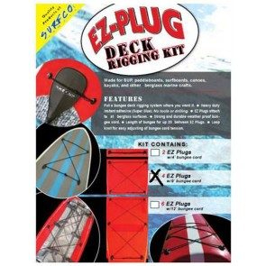 Surfco Hawaii - EZ-Plug Deck Rigging Kit - 4 Pack