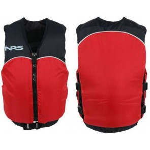 NRS - Youth Crew Universal PFD Vest - Black/Red