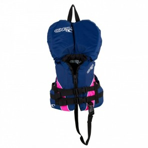 O'Neill - Infant Superlite USCG PFD Vest - Navy/Pink/White