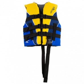 O'Neill - Child Superlite USCG PFD Vest - Yellow/Navy/White
