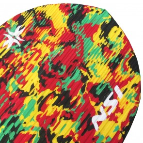 North Shore Inc - Full Monty Surf Pad - Rasta