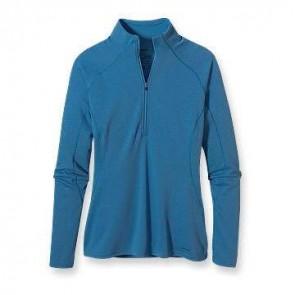 Patagonia Women's Capilene 3 Midweight Zip Neck - Blue