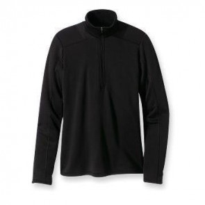 Patagonia Capilene 4 Expedition Weight Zip Neck - Black