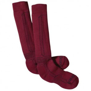 Patagonia Expedition Weight Merino Hiking Mid Socks - Wax Red