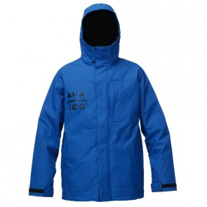Analog Monetary Snow Jacket - True Blue