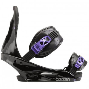 Burton Women's Citizen Snowboard Bindings - Black