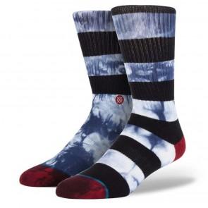 Stance Garcia Socks - White/Blue/Indigo