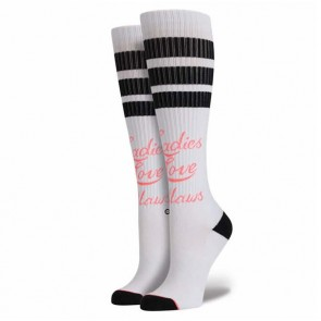 Stance Women's Lady Love Socks - White