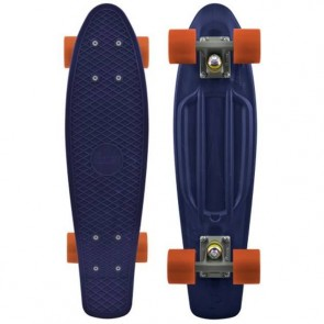 "Penny Skateboards - Organic Penny 22"" Navy/Grey/Orange - Complete"