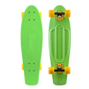 "Penny Skateboards - Nickel 27"" Green Orange/Black Yellow Complete Skateboard"