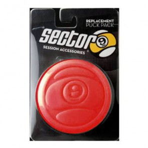 Sector 9 Circular Puck Replacement Pack - Red