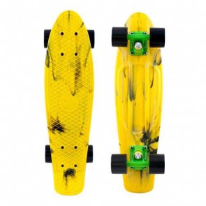 "Penny Marble Nickel 27"" Skateboard Complete - Yellow Black"