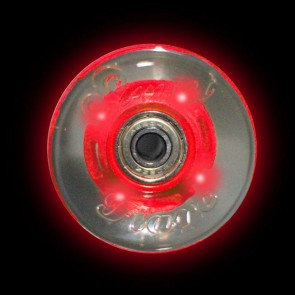 Sunset Skateboards - 59mm Flare Cruiser LED Wheels - Red