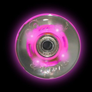 Sunset Skateboards - 59mm Flare Cruiser LED Wheels - Pink