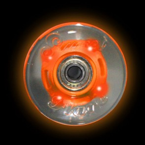 Sunset Skateboards - 59mm Flare Cruiser LED Wheels - Orange