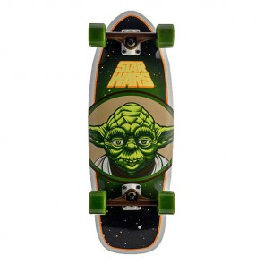 Santa Cruz Star Wars Yoda Cruzer Complete