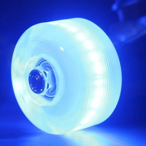 Sunset Skateboards - 54mm Flare Street LED Wheels - Blue