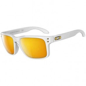 Oakley Holbrook Shaun White Sunglasses - Polished White/24k Iridium