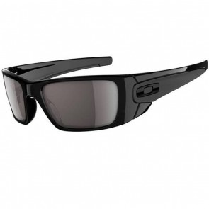 Oakley Fuel Cell Sunglasses - Polished Black/Warm Grey