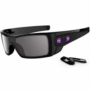 Oakley Batwolf Sunglasses - Polished Black/Warm Grey