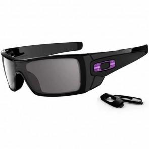 Oakley Batwolf Sunglasses - Polished Black/Warm Grey