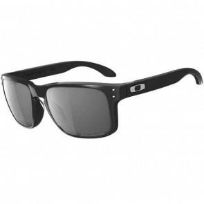 Oakley Holbrook Sunglasses - Polished Black/Grey Polarized