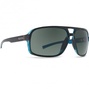 Von Zipper Decco Sunglasses - Black Blue/Grey