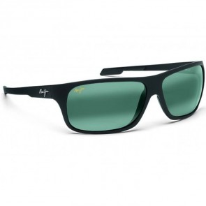 Maui Jim Island Time Sunglasses - Matte Black Rubber/Neutral Grey