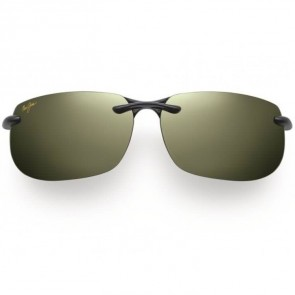 Maui Jim Banyans Sunglasses - Gloss Black/Maui HT