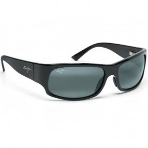 Maui Jim Longboard Sunglasses - Matte Black Rubber/Neutral Grey