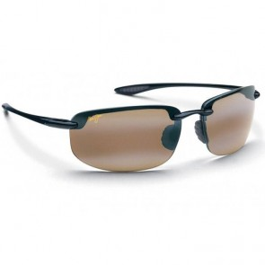Maui Jim Ho'okipa Sunglasses - Gloss Black Gold/HCL Bronze