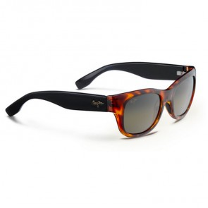 Maui Jim Kahoma Sunglasses - Tortoise with Black/HCL Bronze
