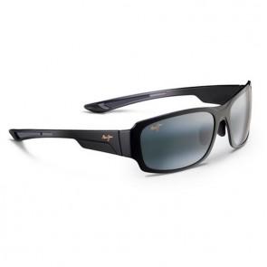 Maui Jim Bamboo Forest Sunglasses - Gloss Black Fade/Neutral Grey