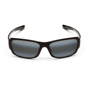 Maui Jim Bamboo Forest Sunglasses - Gloss Black Fade/Neutral Grey
