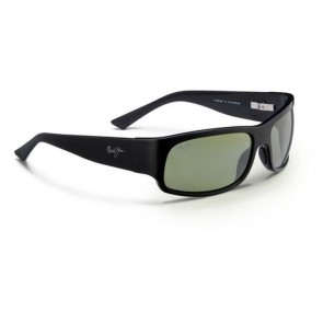 Maui Jim Longboard Sunglasses - Gloss Black / Maui HT
