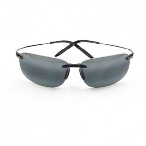 Maui Jim Olowalu Sunglasses - Black and Gunmetal/Neutral Grey