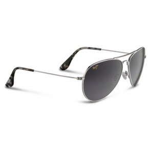 Maui Jim Mavericks Sunglasses - Silver/Neutral Grey