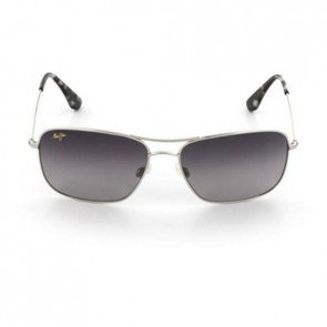 Maui Jim Wiki Wiki Sunglasses - Silver/Neutral Grey