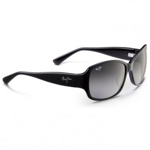 Maui Jim Women's Nalani Sunglasses - Gloss Black/Neutral Grey