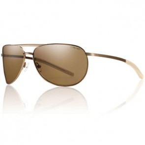 Smith Serpico Slim Sunglasses - Matte Desert/Brown Polarized