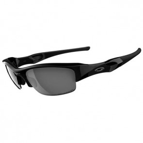Oakley Flak Jacket Sunglasses - Jet Black/Black Iridium Polarized