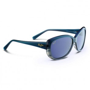 Maui Jim Women's Pikake Sunglasses - Teal Fade to Grey Stripe/Neutral Grey