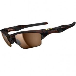 Oakley Half Jacket 2.0 XL Polarized Sunglasses - Polished Rootbeer/Bronze