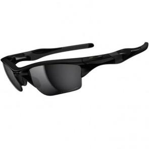 Oakley Half Jacket 2.0 XL Polarized Sunglasses - Polished Black/Black Iridium