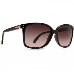 Von Zipper Women's Castaway Sunglasses - Black Crystal/Gradient