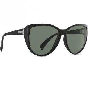 Von Zipper Women's Up Do Sunglasses - Black Gloss/Vintage Grey